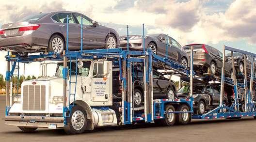 United Road car hauler