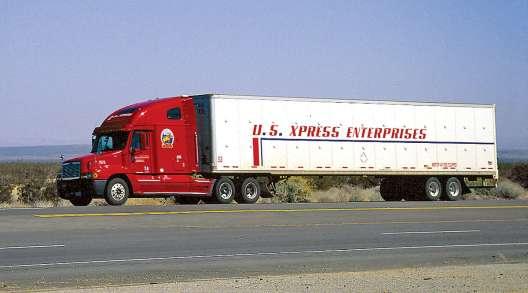 U.S. XPress truck