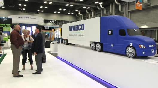 Wabco booth at MC&E