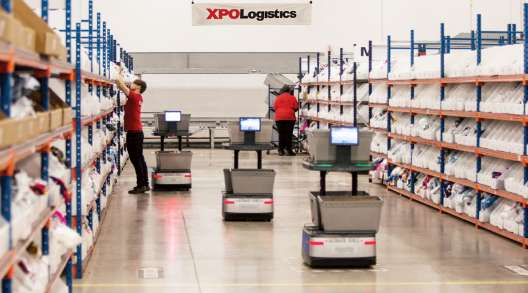XPO Logistics fulfillment facility