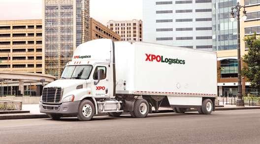 An XPO Logistics truck