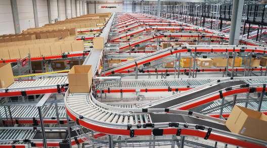 An XPO Logistics supply chain facility