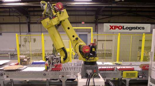 XPO logistics robot arm
