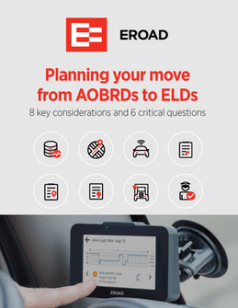 Planning Your Move From AOBRDs to ELDs