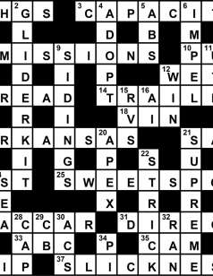 Crossword Solution