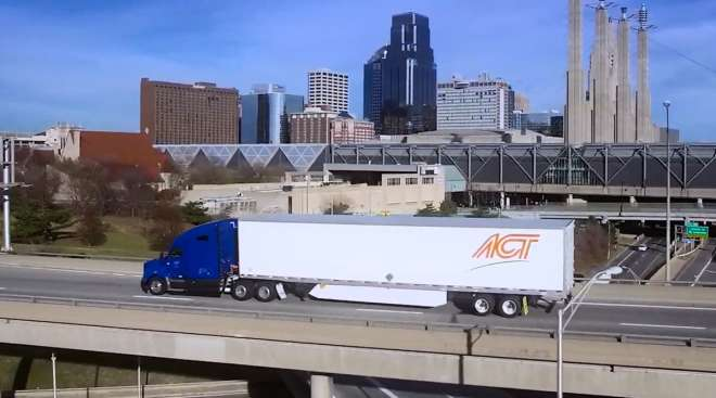 American Central Transport truck