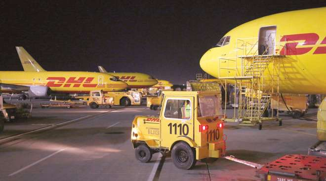 The airfreight forwarding sector, in which DHL ranks No. 1, logged one of the weakest years for logistics subsegments.