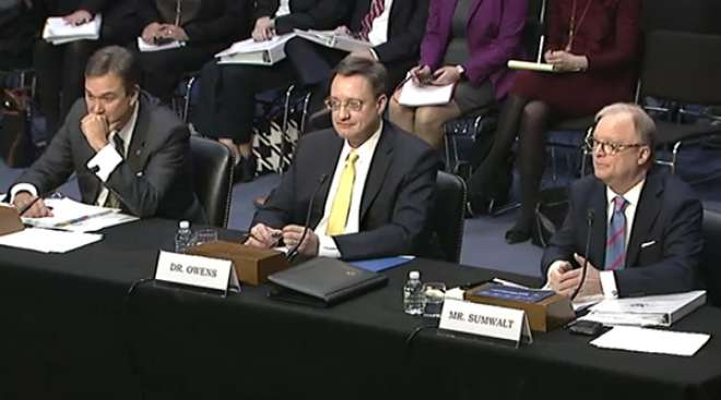 Panelists at Senate Commerce Committee hearing on autonomous vehicles