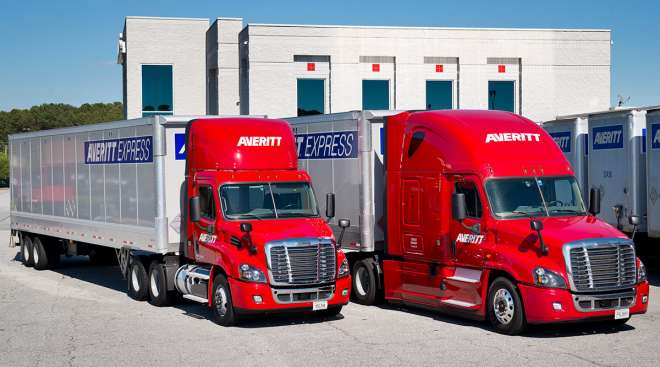 Averett Express trucks
