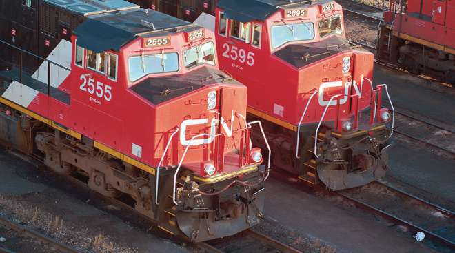 Canadian National trains