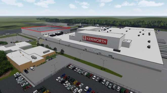 Kenworth Chillicothe Plant Expansion