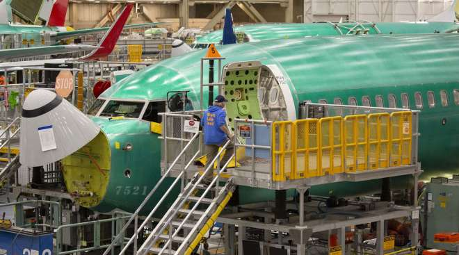 Boeing will restart 737 Max production this month, CEO Dave Calhoun said.