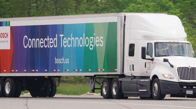 Bosch connected truck