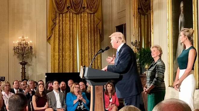 Trucking executives meeting President Trump at White House