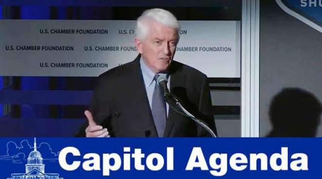 Chamber of Commerce CEO Tom Donohue