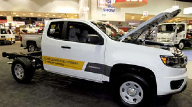 Chevrolet Debuts Chassis Cab Midsize Truck
