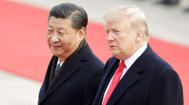 President Xi and Trump
