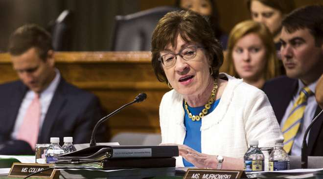 The Senate subcommittee for which Susan Collins serves as chairwoman advanced a transportation funding bill.