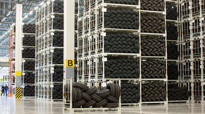 Continental AG tire warehouse