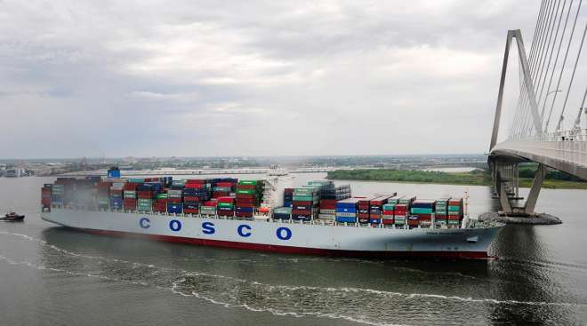 S.C. Ports Set Record for Handling TEUs