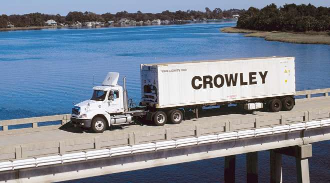 Crowley Logistics truck