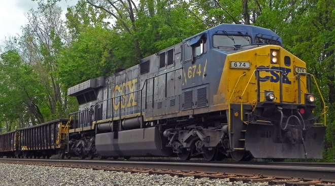 CSX has come under criticism from shippers for delays