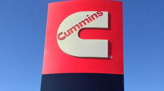 Cummins Inc. sign