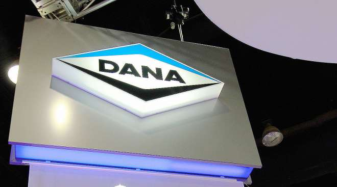 Dana signage at event