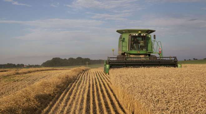Deere & Co. has increased its sales outlook for the year.