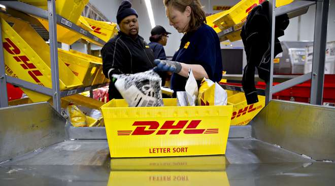 DHL Express facility
