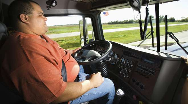 Over-the-road truck driver