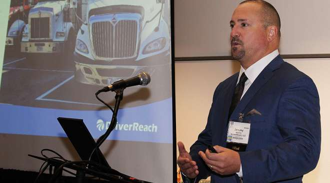 DriverReach founder and CEO Jeremy Reymer