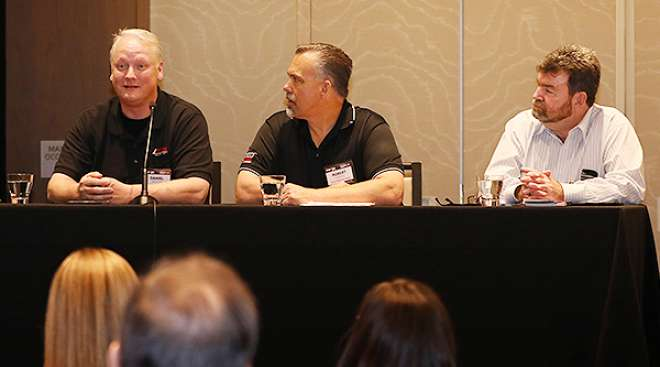 Drivers at recruiting and retention panel