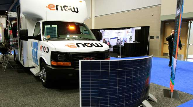 eNow Truck Rooftop Mounting Systems