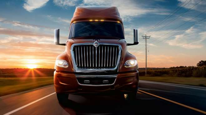 Navistar LT Series over-the-road tractor