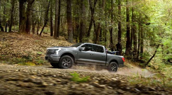 The 2022 Ford F-150 Lightning will look to compete with other electric pickups from Tesla, GM and Rivian.(Ford Motor Company)