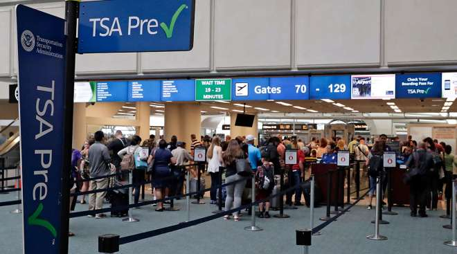 TSA Precheck at Orlando International Airport