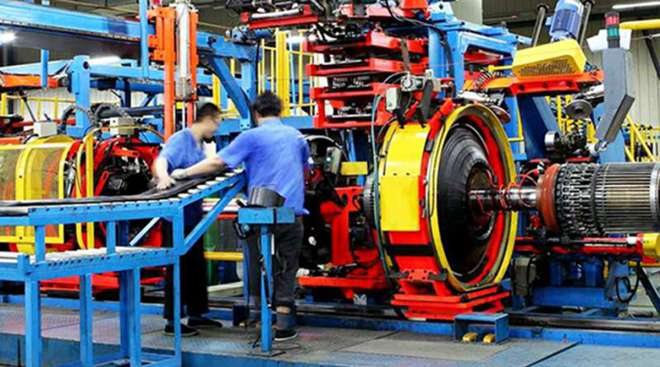 Chinese tire manufacturing plant