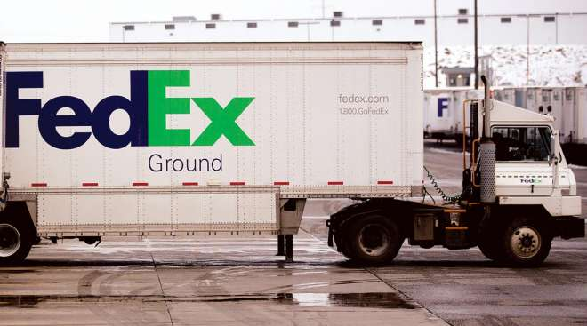FedEx Ground Trailer