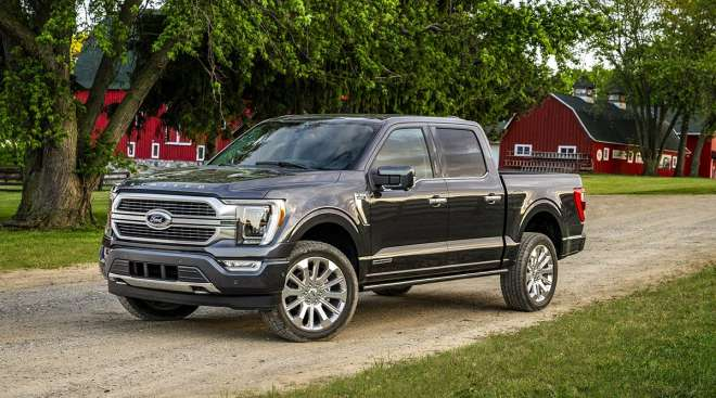 The 2021 Ford F-150