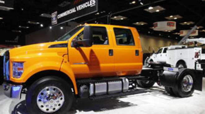 Ford Unveils Medium-Duty Trucks Updated With New Telematics System