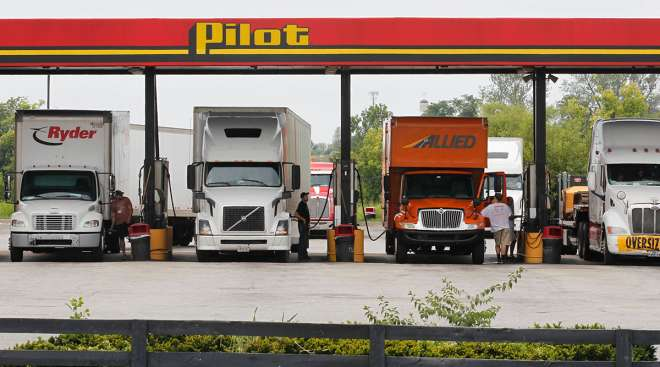 Pilot Flying J station