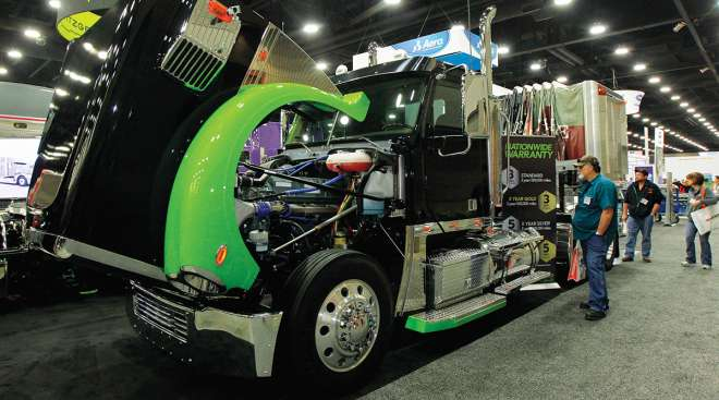 GHG truck with gliders