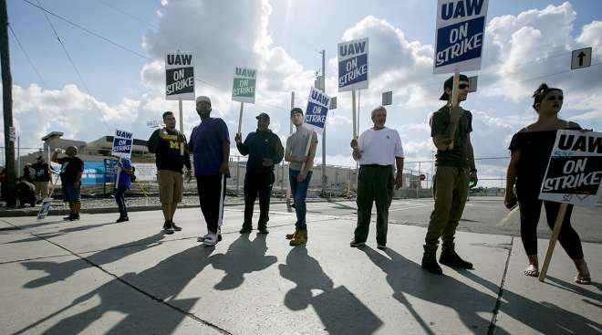 UAW strike against General Motors