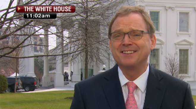 White House Economic Adviser Kevin Hassett