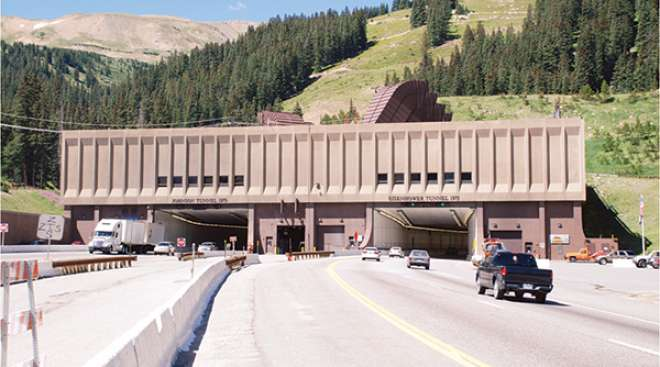 The Eisenhower/Johnson tunnel