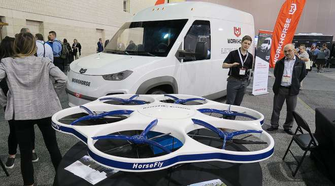 Workhorse Group delivery drone