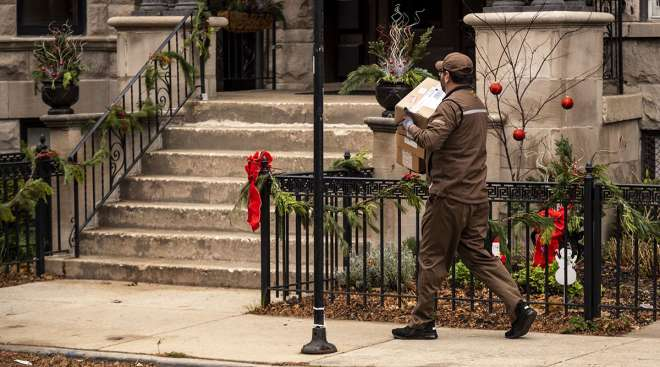 UPS holiday delivery