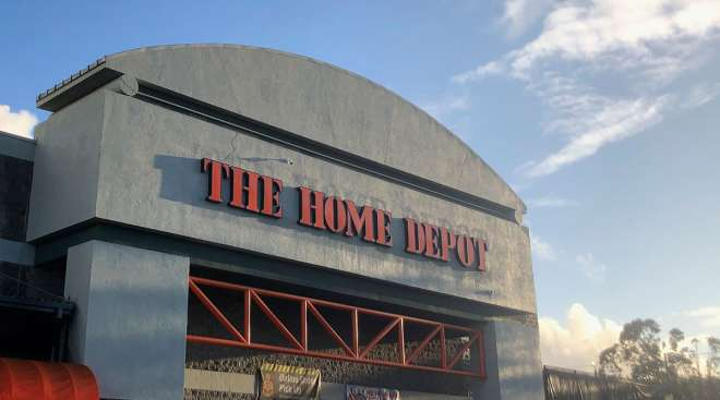 A Home Depot store is shown in Colma, Calif., on Jan. 16.