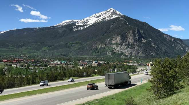 I-70 in Colorado